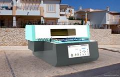 2015 New direct embossed digital ceramic tile printing machine for sale