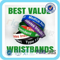 Bulk Cheap Scented Silicone Wristband