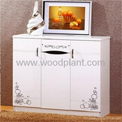 High quality wooden shoe cabine for bedroom furniture
