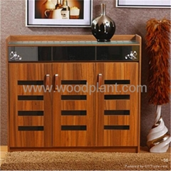 Federal modern style shoe cabinet Antique Furniture with mirror