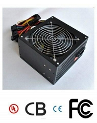 PC Power Supply Rated Power 250W AMD & Intel P4 ATX 12V with 8cm/12cm Fans