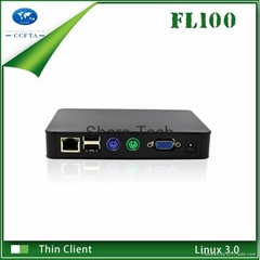 Cheapest Linux Thin Client with PS2 Port Support Windows 7 Speaker and Mic