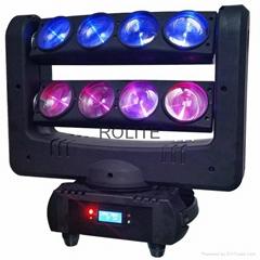 8PCS 10w CREE RGBW moving head Led beam spider light