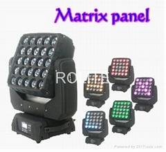 25PCS 15W RGBW 4 in 1 Matrix beam Led moving head