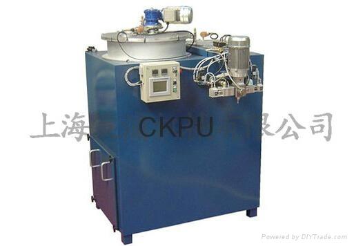PU elastomer casting machine  1