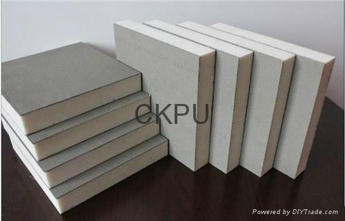 Heat insulation sandwich panel production line  2