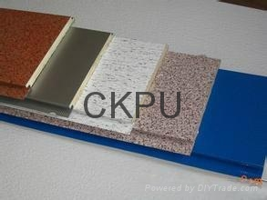 Decoration and heat insulation integrated production line 3
