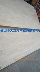 供应进口泰国橡胶木指接板