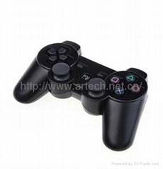 Wireless Game Controller for PS 3 Rumble Feature PS3 Black