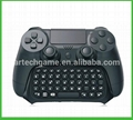New arrival Wireless Bluetooth keyboard  For PS4