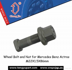 Wheel Bolt and Nut for Mercedes Benz Actros