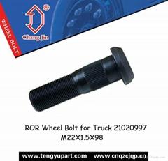 ROR Wheel Bolt for Truck 21020997