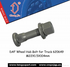DAF Wheel Hub Bolt for Truck 620649