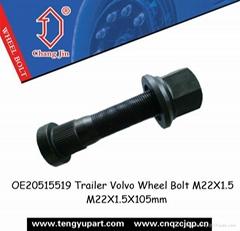 OE20515519 Trailer Volvo Wheel Bolt M22X1.5