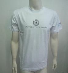 2014 Custom cotton printed quality mens T-shirt
