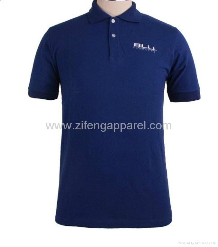 Custom embroidery quality mens polo shirt zf1405 01 for High quality embroidered polo shirts
