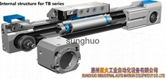XH-25-TB-EG-L500 Belt Drive Linear Actuator for automation equipment
