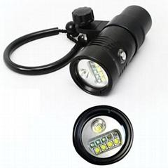 Hi-max ip68 wide angle video light V14