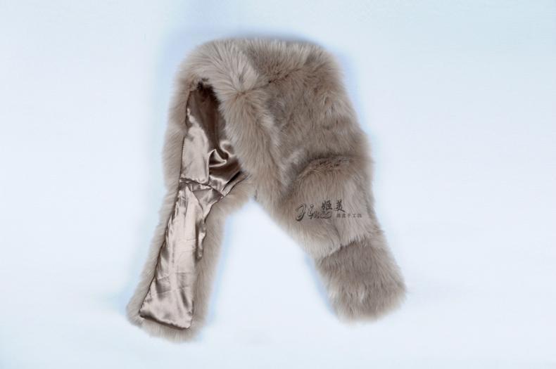 仿狐狸毛圍巾 4