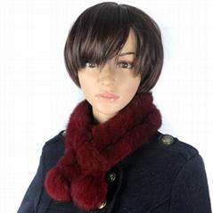 habbit fur scarf