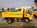 JAC 4*2 mini dump truck,3-ton Loading, 80km/hour ,DA004