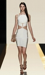 white two piece sexy new fashion evening dresses