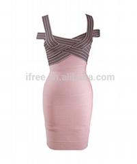 2014 celebrity women new style summer bandage dress