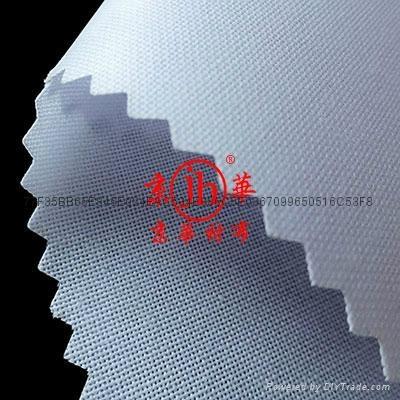 出口用单面覆膜阿拉伯大袍粘合衬布   2