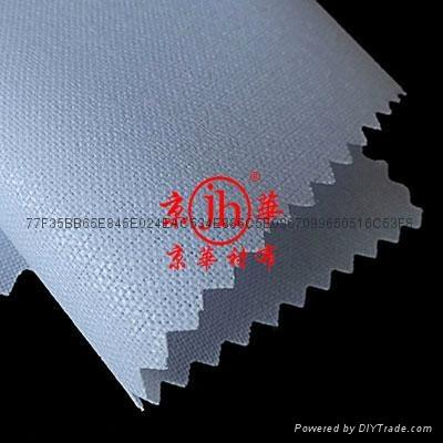 服装出口用单面覆膜粘合衬布 1