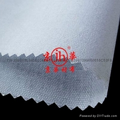 阿拉伯大袍衬衫西装等服装用低手感有纺粘合衬布