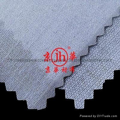 阿拉伯大袍衬衫西装等服装用低手感有纺粘合衬布 3