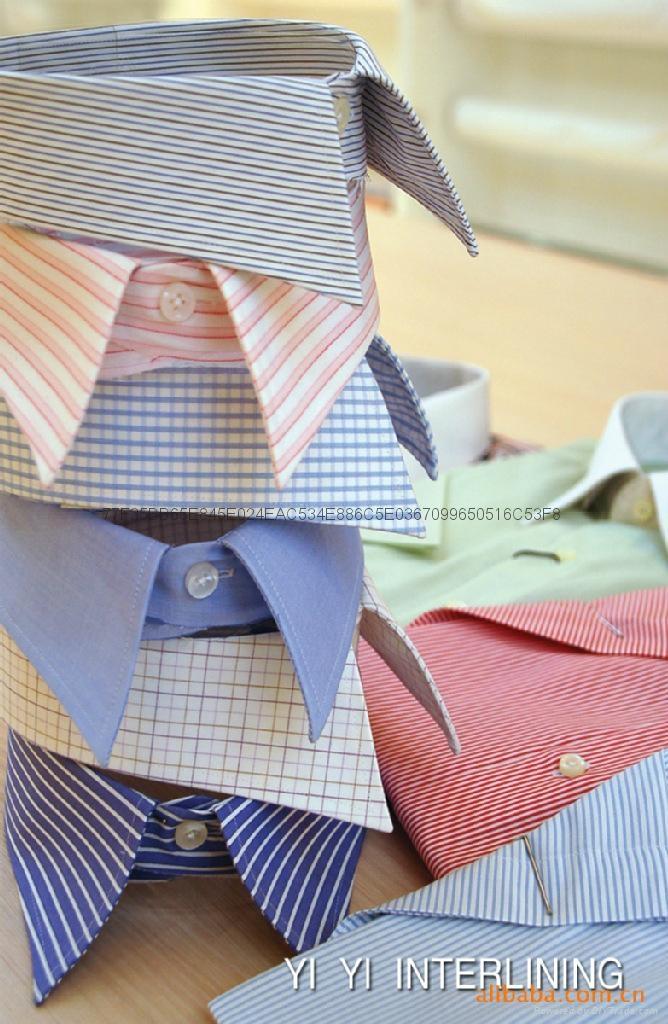 阿拉伯大袍衬衫西装等服装用低手感有纺粘合衬布 5
