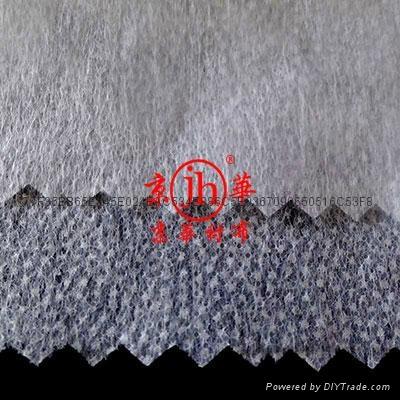 牛仔服装用酵素洗无纺粘合衬布  3