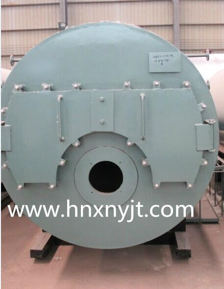 WNS型卧式燃油(气)蒸汽锅炉 1