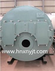 WNS型卧式燃油(气)蒸汽锅炉