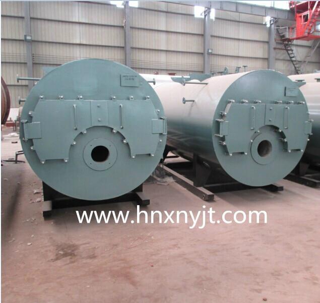 WNS型卧式燃油(气)蒸汽锅炉 2