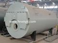 WNS型卧式燃油(气)蒸汽锅炉 4