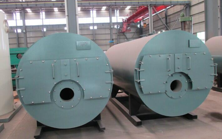 CWNS型卧式燃油(气)热水锅炉 1