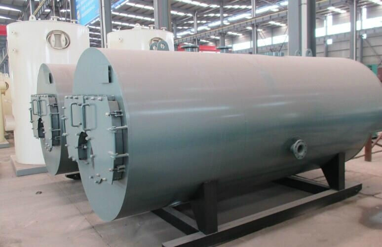 CWNS型卧式燃油(气)热水锅炉 2