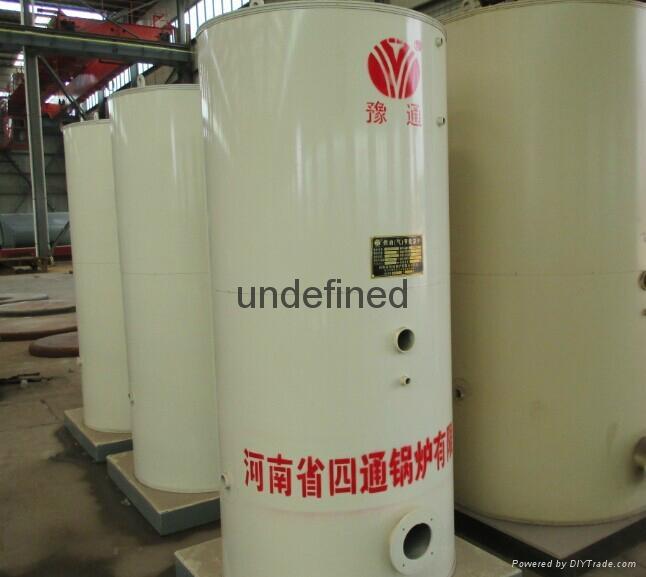 云南立式全自动燃气蒸汽锅炉 3