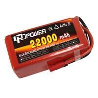 6s 22000mah high rate lipo battery