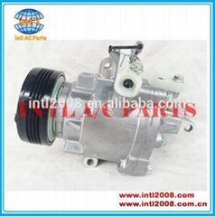 air conditioning auto a/c ac compressor 2010 2011 2012 SUZUKI SWIFT 4PK QS70