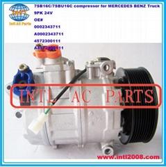 A4572300111 DENSO 7SB16C 7SBU16C ac compressor for MERCEDES BENZ AXOR/MB AXOR