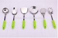 colorful stainless steel cookware tool
