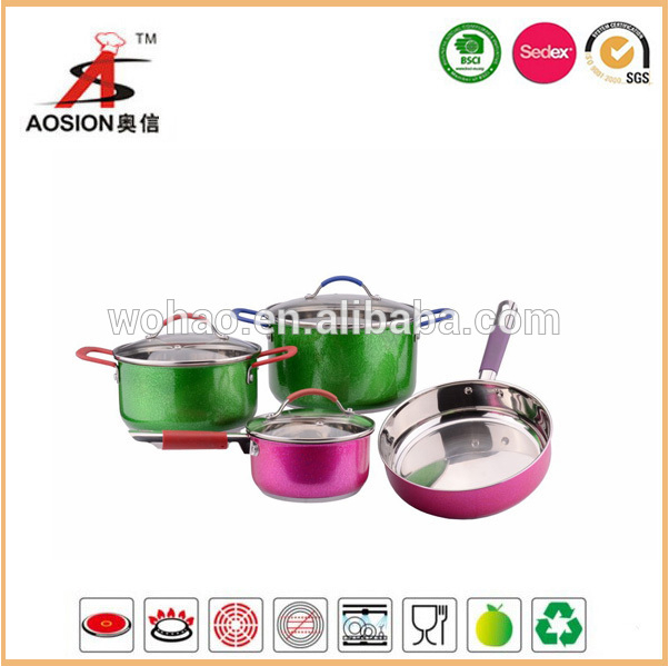 new design stainless steel induction cookware for sale 1