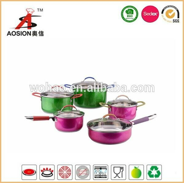 new design stainless steel induction cookware for sale 2
