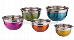 high quality stainless steel salad bowl
