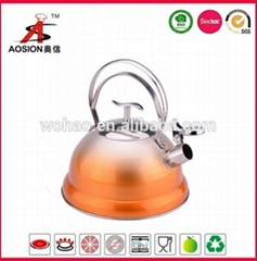 hot new products stainless steel turkish tea kettle