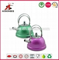 small size stainless steel non-electric tea kettle 1