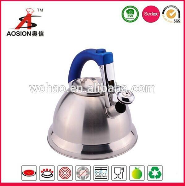 new design stainless steel turkish tea kettle 1